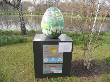 Big egg hunt Fabergé egg